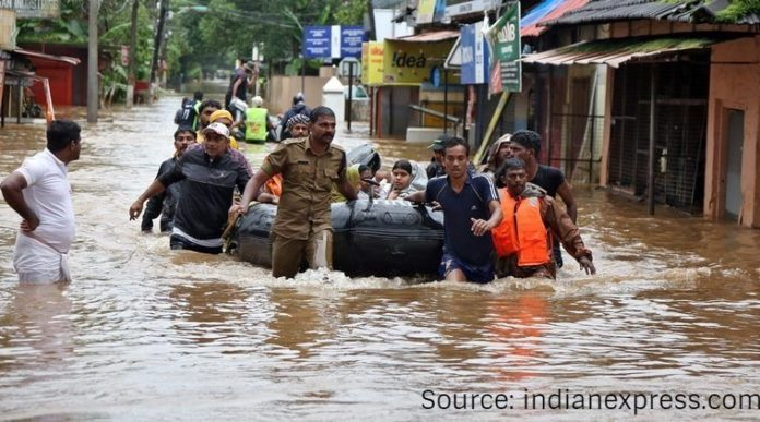 Catholic Churches in India helps flood affected Kerala